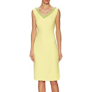 Tory Burch | Portia Yellow Sheath Dress Like New